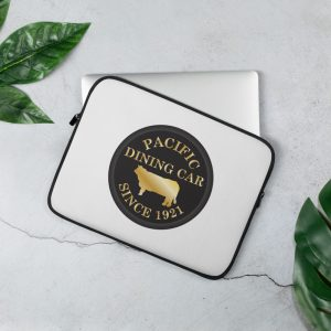 Pacific Dining Car Laptop Sleeve