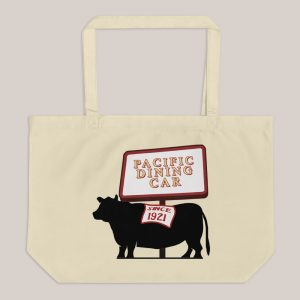Pacific Dining Car Tote Bag - Large