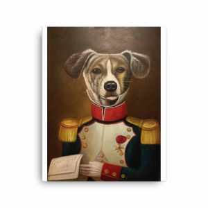 Pacific Dining Car Dog Portrait